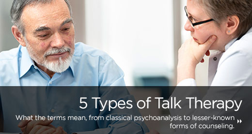 5 Types of Talk Therapy