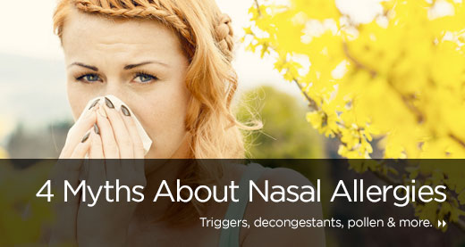 4 Myths About Nasal Allergies