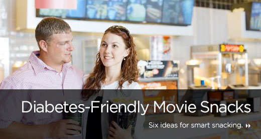 Diabetes-Friendly Movie Snacks
