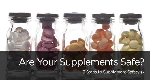 Are Your Supplements Safe?