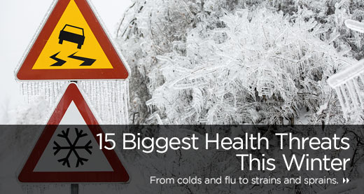 15 Biggest Health Threats This Winter
